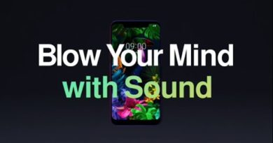 LG G8S ThinQ Feature Video: Sound