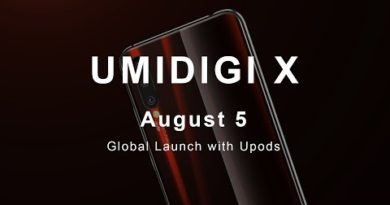 UMIDIGI X: See More and Smarter. August 5