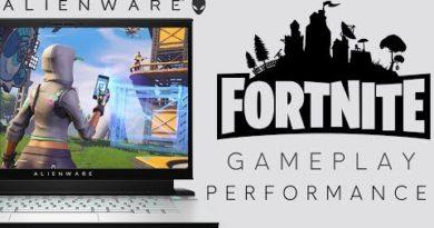 Fortnite Performance Gameplay - Alienware M15 R2 Gaming Laptop