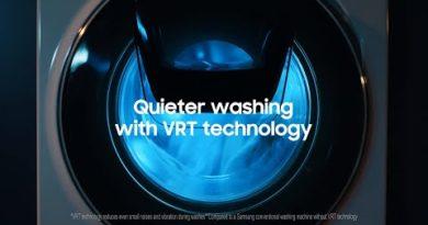QuickDrive™ Washing Machine: Quiet and peaceful washing│Samsung