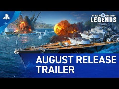 World of Warships: Legends - Update 1.0 Trailer | PS4 - duncannagle.com