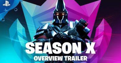 Fortnite - Season X Overview Trailer | PS4