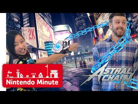 NEW Astral Chain Gameplay - Can We Defuse the Bomb? - Nintendo Minute