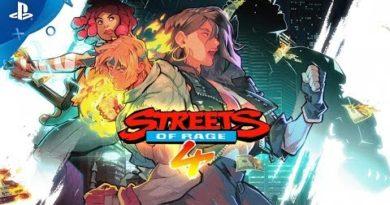 Streets of Rage 4 - Gamescom 2019 Cherry Hunter | PS4