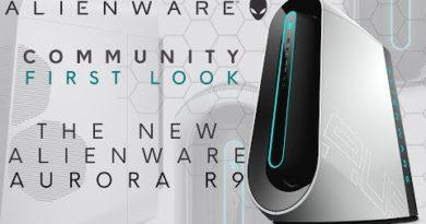 Community First Look: Alienware Aurora R9