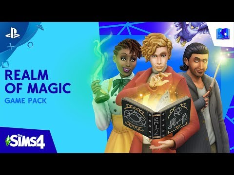 The Sims 4 - Gamescom 2019 Realm of Magic Official Trailer | PS4
