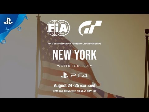 Gran Turismo Sport - World Tour NYC Preview | PS4