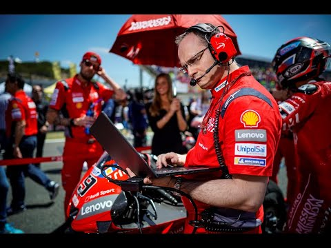 How Ducati is using Lenovo Tech On and Off the Track