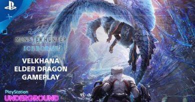 Monster Hunter World: Iceborne - Velkhana Gameplay | PlayStation Underground