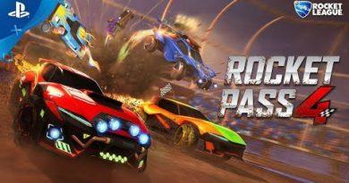 Rocket League - Rocket Pass 4   PS4