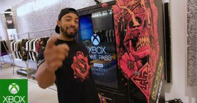 Gears 5 Rockstar Energy Vending Machine Tour Launch Trailer