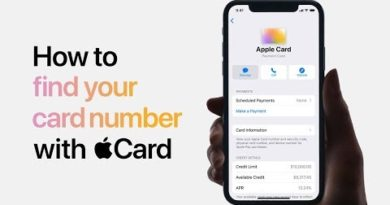 Apple Card — How to find your card number — Apple