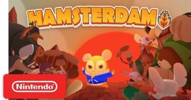 Hamsterdam - Launch Trailer - Nintendo Switch