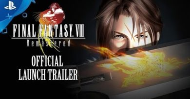 Final Fantasy VIII Remastered - Official Launch Trailer | PS4