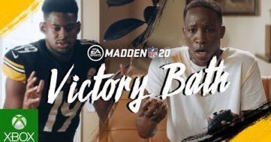Madden NFL 20 | Victory Bath ft. JuJu Smith-Schuster