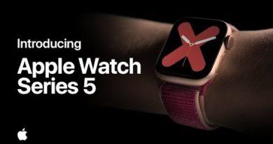 Introducing Apple Watch Series 5