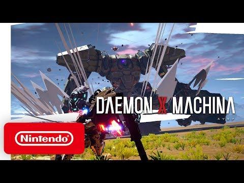 DAEMON X MACHINA - Launch Trailer - Nintendo Switch