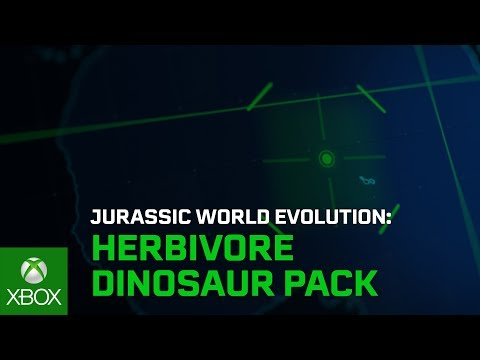 Jurassic World Evolution: Herbivore Dinosaur Pack Launch Trailer