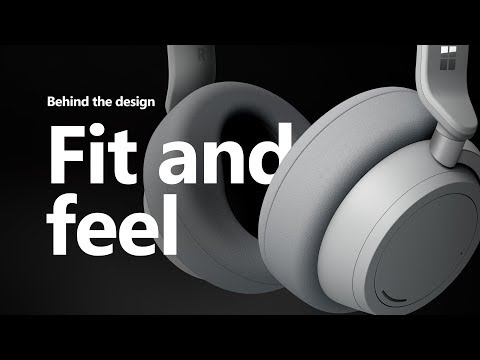 Microsoft Surface Headphones | The Fit and Feel