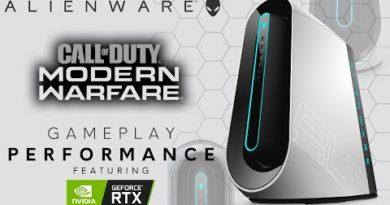 Aurora R9 - Call of Duty: Modern Warfare Gameplay Performance