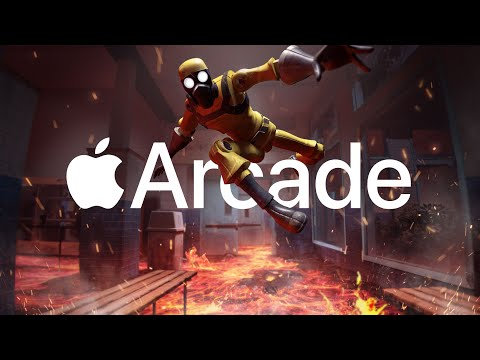 Hot Lava Trailer — Apple Arcade