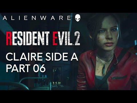 Resident Evil 2 Part 06 - Gameplay on Alienware Aurora Gaming PC (1080 Ti)