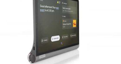 "Yoga Smart Tab 10"" Stand 360 Animation Video"