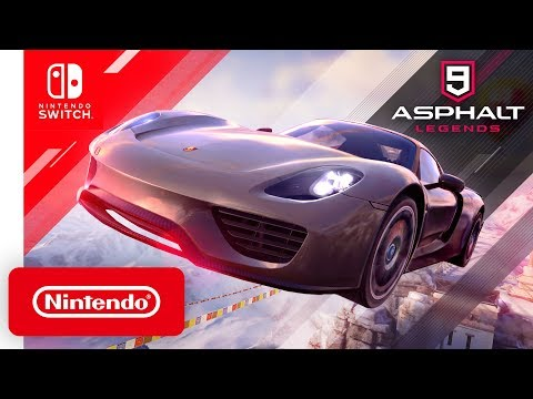Asphalt 9: Legends - Launch Trailer - Nintendo Switch