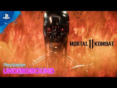 Mortal Kombat 11 – Terminator Gameplay With Ed Boon | PlayStation Underground