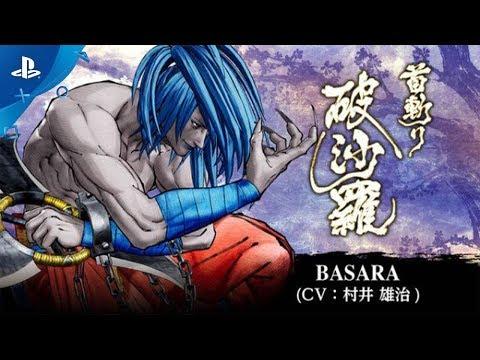 Samurai Shodown - Basara Trailer | PS4