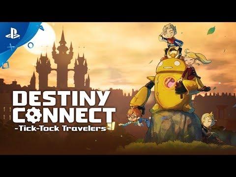 Destiny Connect: Tick-Tock Travelers - Launch Trailer   PS4