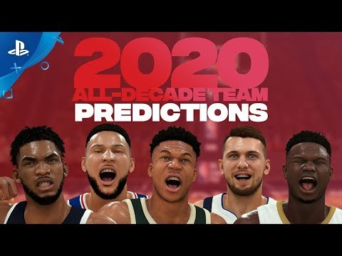NBA 2K20 - Predicted 2020 All-Decade Team   PS4