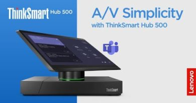 A/V Simplicity with ThinkSmart Hub 500