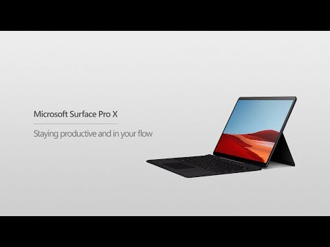 Microsoft Surface Pro X | How to stay productive and in your flow