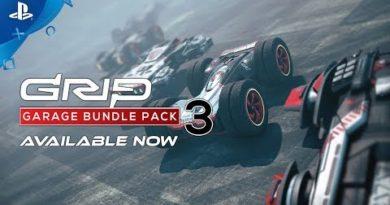 GRIP: Combat Racing - Garage Pack 3 Trailer | PS4