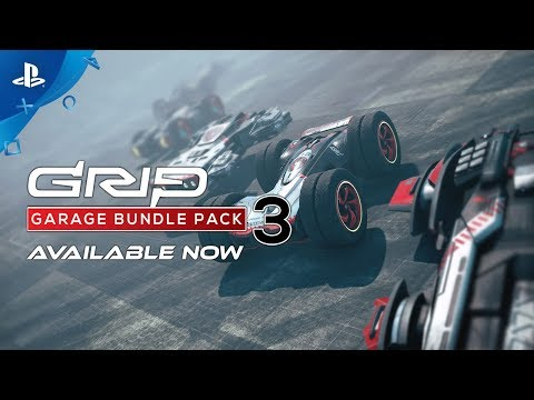 GRIP: Combat Racing - Garage Pack 3 Trailer | PS4