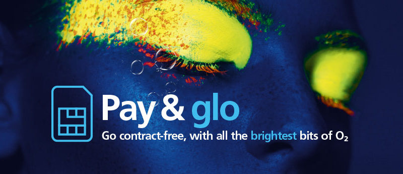 O2 launches Pay & 'Glo' – the contract free tariff with all the brightest bits of O2