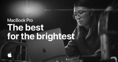Introducing MacBook Pro 16-inch — Apple