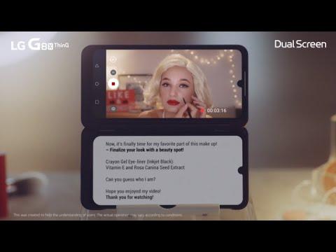 LG G8X ThinQ & Dual Screen: Life Hacks Season 2 – Ep 12. Make-up Tutorial