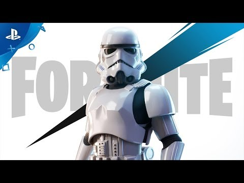 Fortnite - Imperial Stormtrooper Announce Trailer | PS4