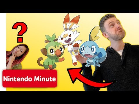 Guessing Stuff! - BE the Pokémon Challenge w/ Pokémon Sword & Pokémon Shield | Nintendo Minute