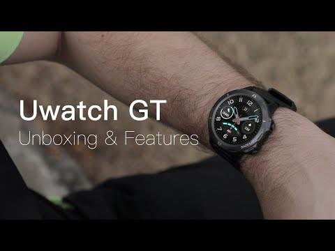 UMIDIGI Uwatch GT Unboxing: The Flagship Sport Smartwatch