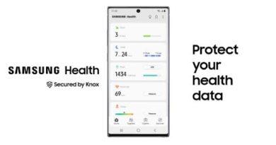 Secured by Knox: Samsung Health