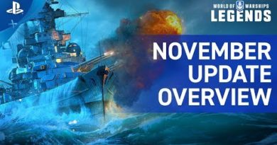 World of Warships: Legends – November Update Overview Trailer | PS4