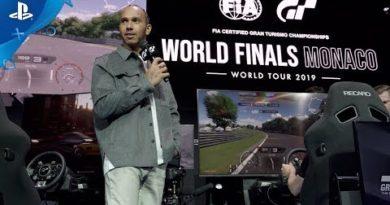 Gran Turismo Sport - Lewis Hamilton at Monaco World Finals | PS4