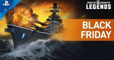 World of Warships: Legends – Black Friday Trailer | PS4