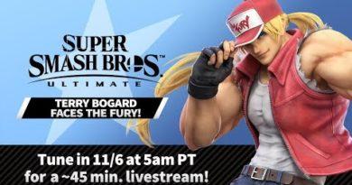 "Super Smash Bros. Ultimate - Mr. Sakurai Presents ""Terry Bogard"""