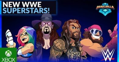 Brawlhalla: WWE Superstars Wave 2 Crossover Trailer |  Ubisoft [NA]