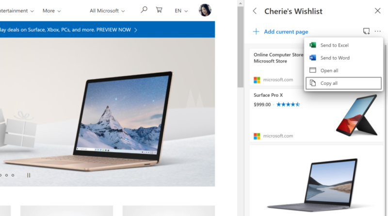 Get started with Collections in Microsoft Edge