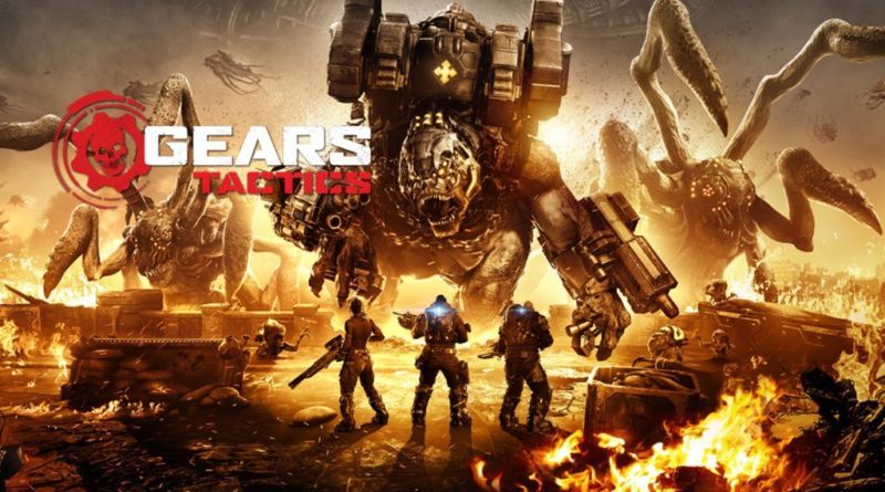 Coming in April exclusively to PC: Gears Tactics